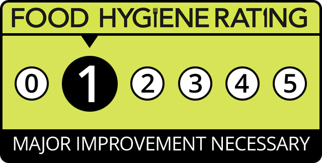 Food Hygiene Rating for Polish Plate, Northamptonshire