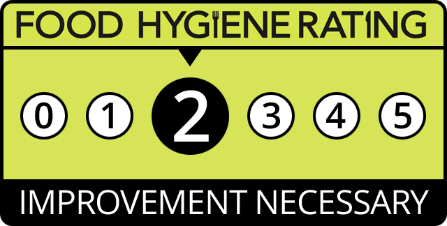 Food Hygiene Rating for Prego