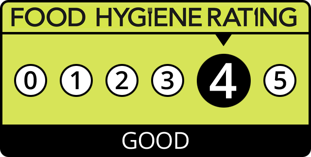 Food Hygiene Rating for 036 RnB